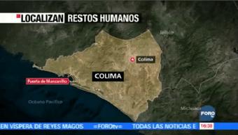 Hallan Restos Personas Bolsas Plástico Manzanillo Colima