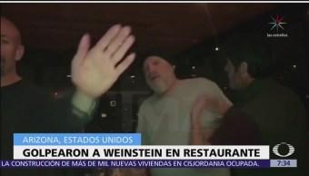 Harvey Weinstein es agredido en un restaurante de Arizona