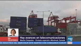 Avances Telecomunicaciones Negociaciones Tlcan