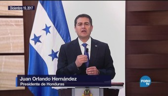 Honduras Investidura Presidencial Medio Protestas