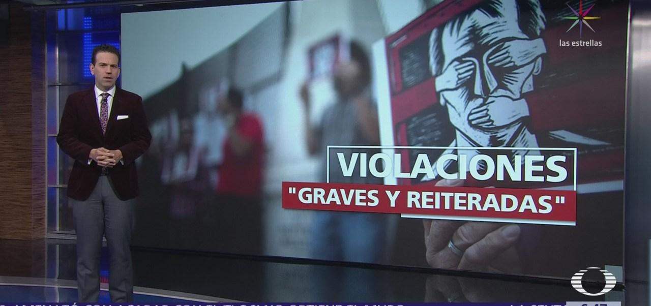 HRW critica al gobierno mexicano por violaciones a derechos humanos