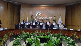 Firman compromiso de civilidad siete partidos en la CDMX