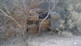 Ejército Mexicano realiza importantes aseguramientos de droga en Baja California y Sonora