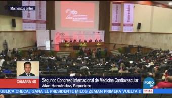 Inauguran Segundo Congreso Internacional de Medicina Cardiovascular