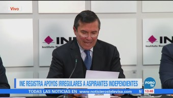 Ine Registra Apoyos Irregulares Aspirantes Independientes