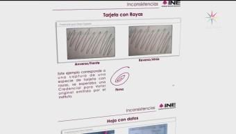 INE revela apoyo fraudulento de aspirantes independientes
