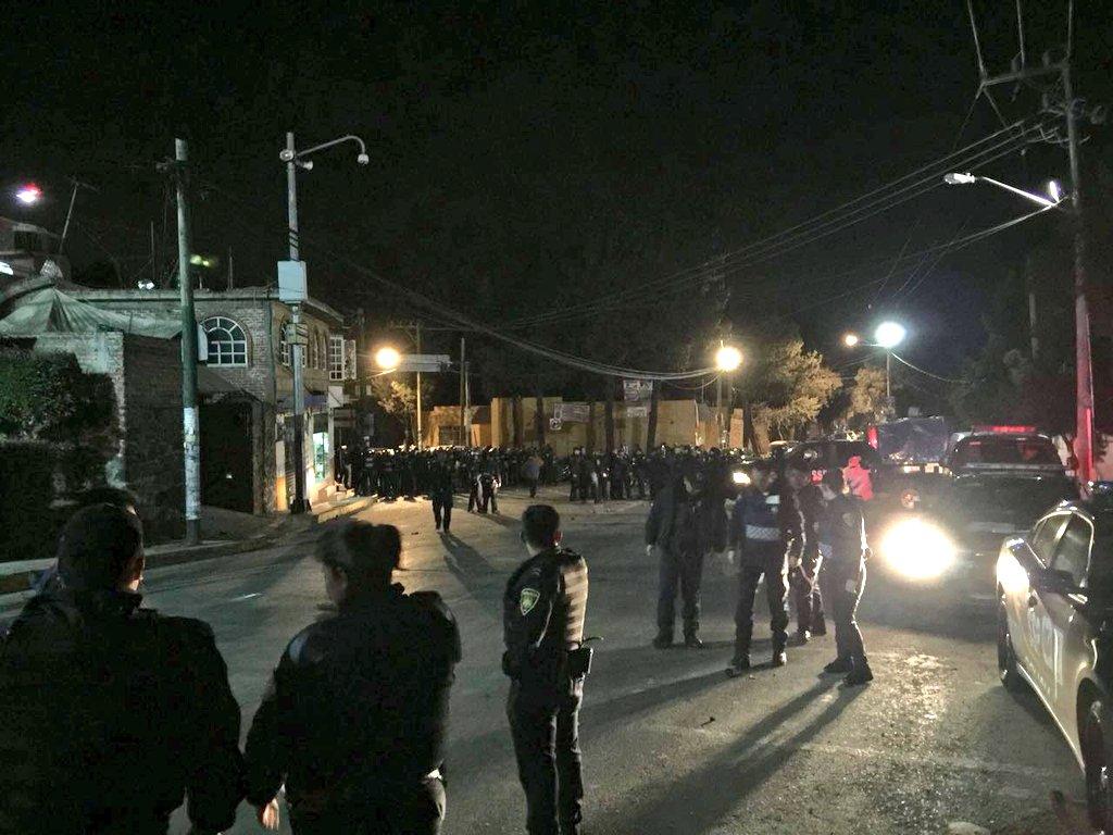 Intentan linchar a presunto delincuente en Milpa Alta (Nota y video)