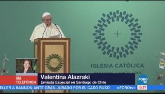 Interna Cárcel Chilena Habla Papa Francisco