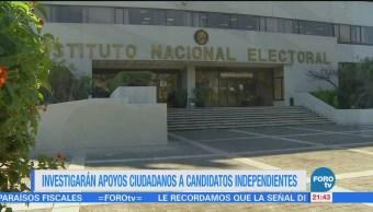 Investigarán Apoyos Ciudadanos Candidatos Independientes Gobierno Cdmx