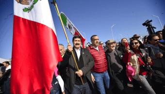 Inicia recorrido de Caravana por la Dignidad que encabeza Javier Corral