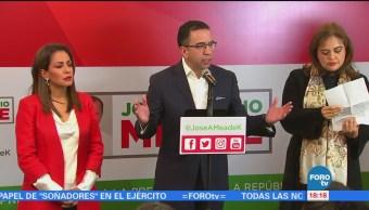 Javier Lozano defiende propuesta del precandidato Meade