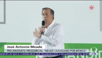 José Antonio Meade Cubre Agenda Zacatecas
