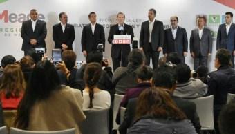 Meade presenta iniciativas de reforma para combate a la corrupción