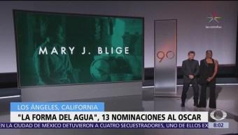 'La Forma del Agua' encabeza lista del Oscar, con 13 nominaciones