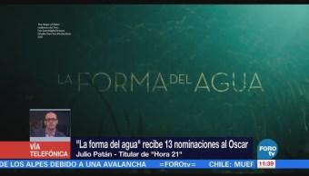'La forma del agua' es una historia con una lectura política, asegura Julio Patán