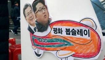 las coreas acuerdan desfilar juntas en los juegos olimpicos