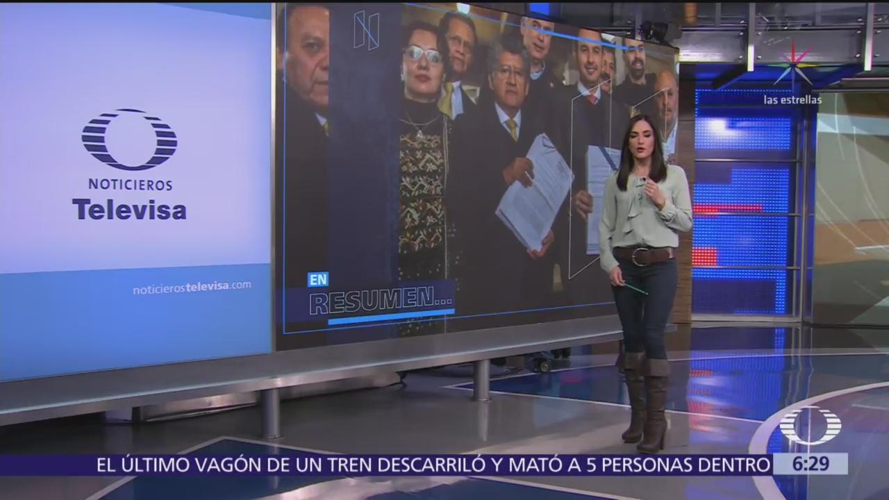 Las noticias, con Danielle Dithurbide: Programa del 19 de enero del 2018