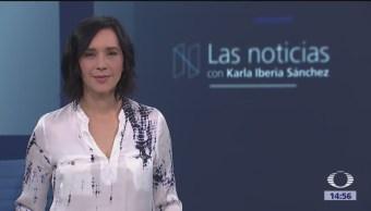 Las Noticias, con Karla Iberia: Programa del 23 de enero de 2018