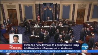 Legisladores desconfían de que la Casa Blanca respete acuerdos