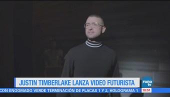 #LoEspectaculardeME Justin Timberlake lanza video futurista
