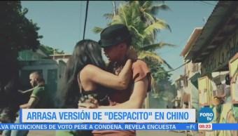 #LoEspectaculardeME: La versión en chino de 'Despacito' arrasa en redes sociales