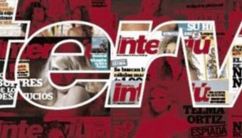 Logo de la revista española Interviú en Twitter