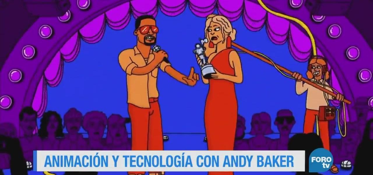 Los coloridos personajes del animador Andy Baker