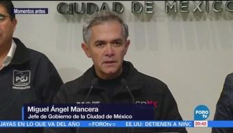 Mancera Anuncia Despliegue Policial Localizar Marco Antonio Sánchez