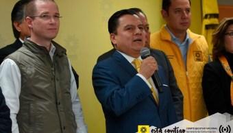 Coalición Por México al Frente significa un cambio de régimen: PRD