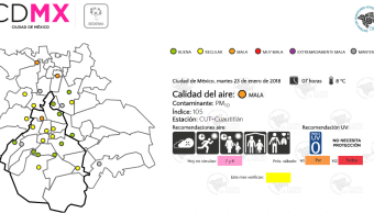 Azcapotzalco, Coacalco y Tepotzotlán amanecen con mala calidad del aire