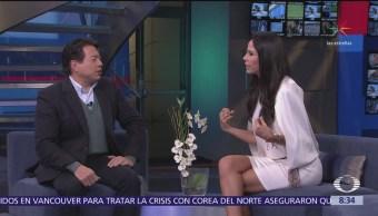 Mario Delgado en el estudio de Al Aire