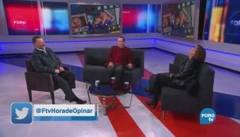 Mauricio Herrera platica de: 'Tiempos modernos'