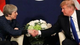 Trump dice negociaría el Brexit con una actitud más dura que May
