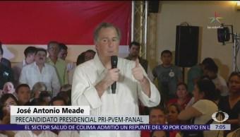 Meade pide avanzar en el Sistema Anticorrupción