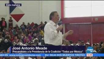 Meade reconoce que la inseguridad lastima a Tamaulipas