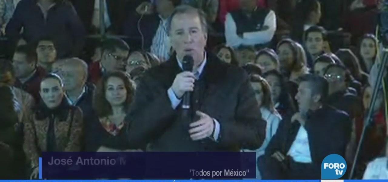 Meade se reúne con jóvenes y simpatizantes del PRI en Hidalgo