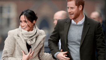 Meghan Markle y el príncipe Enrique. (Getty Images)
