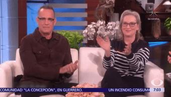 Meryl Streep apoya la posible postulación de Oprah Winfrey a la Presidencia