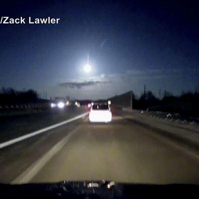 Cae meteorito cerca de Detroit y provoca temblor de dos grados