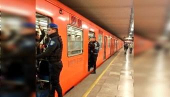 Detienen a sujeto por abuso sexual en estación del Metro Chabacano
