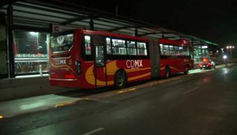 Detienen a otro implicado contra asalto a unidad del Metrobús en Iztacalco