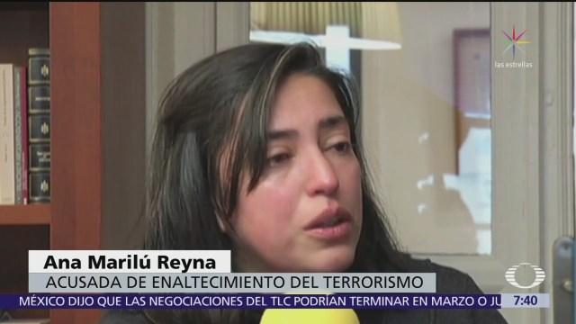 Mexicana acusada de yihadismo en España enfrenta proceso en libertad condicional