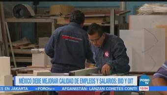 México Últimos Lugares Evaluaciones Bid Omt