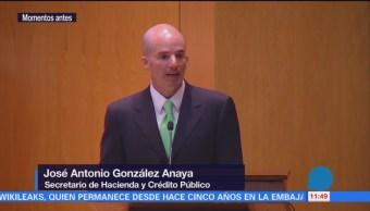 México consolida su política macroeconómica González Anaya