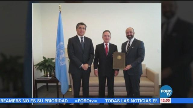 México ratifica ante ONU el Tratado sobre prohibición de armas nucleares