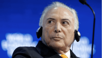 Michel Temer, presidente de Brasil. (AP, archivo)