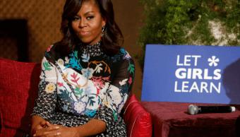 Michelle Obama durante su visita a Marruecos en junio de 2016