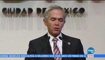 Miguel Ángel Mancera Compromete Incrementar Salario Mínimo