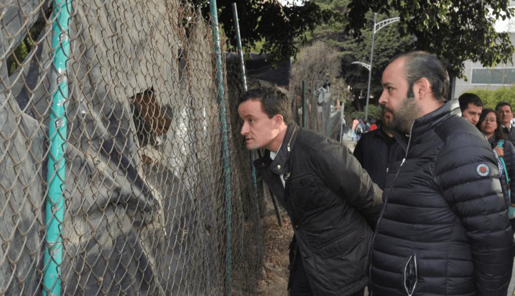 Mikel Arriola visita parque en Polanco y se compromete a mejorar movilidad