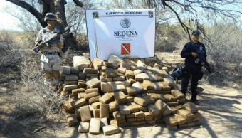 Gobierno federal decomisa 15 mil kilógramos de drogas durante diciembre de 2017